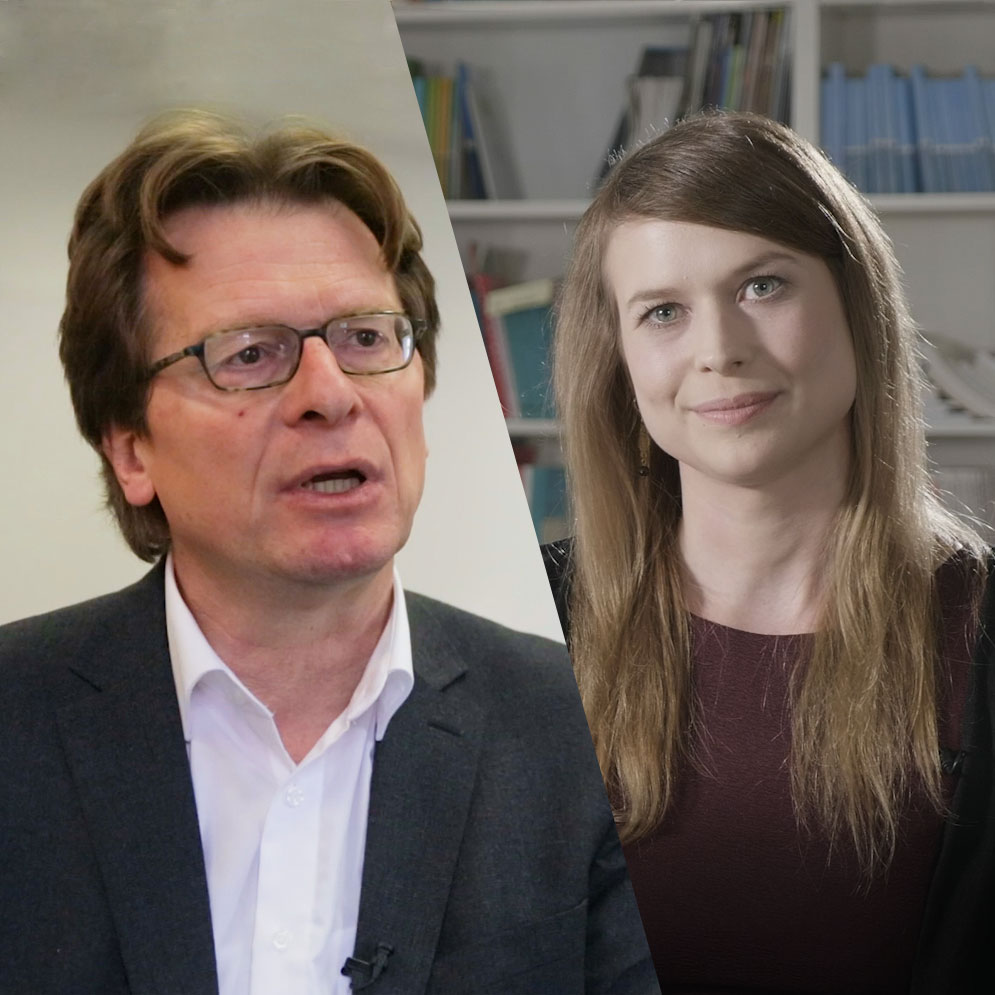 Christin Reisenhofer und Gerhard Bisovsky