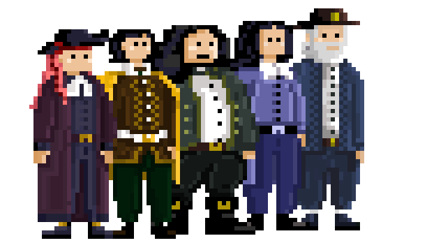 Captain Bayes's crew