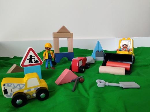 Bauen und Konstruieren im Kindergarten